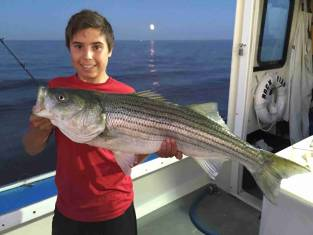 full moon bass fishing